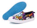 子供KtK040のための男女兼用の漫画のズック靴