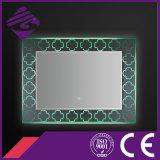 2016 de LEIDENE van de Rechthoek van het Ontwerp Backlit Spiegel van de Badkamers met de Basis van het Kristal