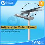 carrocería del metal de 15W 20W 30W, lámpara de calle solar resistente, resistente a la corrosión da alta temperatura