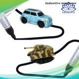 Jouets magiques de véhicule de camion de réservoir de retrait de crayon lecteur pour le mini réservoir inductif électrique de gosses