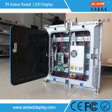 Indicador de diodo emissor de luz interno do arrendamento P6 para o estágio