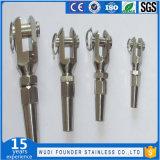 Terminal material de la fork de la cuerda de rosca del acero inoxidable