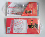 Jogo da régua do cartão da alta qualidade 15cm e da régua do plástico