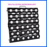 Iluminación del partido del efecto del panel 36*3W de la viga de la matriz de PUNTO del LED