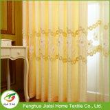 Окно желтого цвета высокого качества ткани занавесов рабата задрапировывает