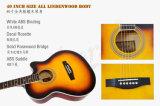 Guitarra acústica colorida do tamanho da venda por atacado 40 da fábrica