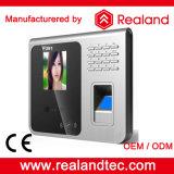 Système biométrique de service de temps de face de l'empreinte digitale 1000 de pouce 5000 d'arrivée neuve de F391 Realand 2.8