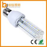 En forma de U 3W 5W 7W 9W 12W 14W 16W 18W 24W de alta potencia de ahorro de energía E27 LED bulbo del maíz