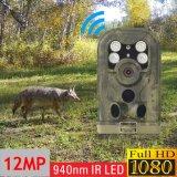 940nm MMS GPRS 1080P 12MPの夜間視界の黒IR赤外線ハンチング道のカメラ