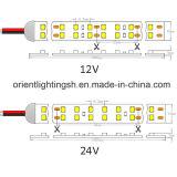 Bande à deux lignes de l'UL SMD1210 (3528) 240LEDs 24V 4000k DEL