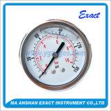 空気テスト圧力は台紙圧力正確に測オイルによって満たされるフランジの圧力計を正確に測る