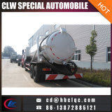 6X4 16m3 18m3 de Tankwagen van Sewer Suction Vehicle Sludge Transport