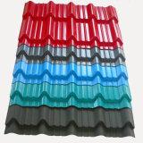 Prix en plastique enduit de feuille de toiture de couleur claire matérielle incassable