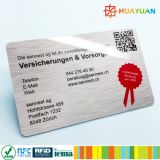 RFID hanking antis que bloquean la tarjeta del PVC protegen su identificación