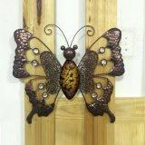 Farfalla antica Decoration-46cm del metallo di arte della parete del giardino