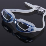 Espejo visión amplia de la venta caliente recubierto Swim máscara de los anteojos