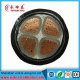 Conductor de cobre de la base de Yjv 4 aislado/cable de transmisión de la envoltura