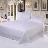 Комплект постельных принадлежностей хлопка гостиницы проверки сатинировки при установленное одеяло (DPF1053)