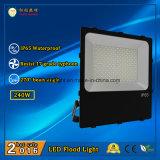 2016 migliore proiettore esterno di vendita di IP65 240W LED con 3 anni di garanzia