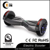 Hoverboard Pattino Elettrico Bluetoothのスピーカーおよび明るいLEDライトとの8インチ