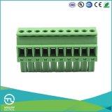 Conetores de cabo dos blocos terminais Ma1.5/Vr3.5 macho do parafuso da montagem do PWB (de 3.81)