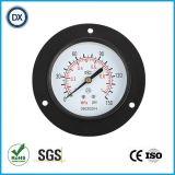 Gaz ou liquide de pression d'acier inoxydable de manomètre de pression de 004 installations