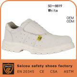 軽量の通気性の食品工業の安全靴Sc8819