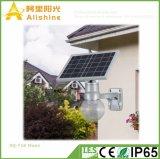 18W LiFePO4電池のロマンチックな庭の月の照明ヤードランプ