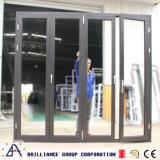 Aluminiumglasflügelfenster-Haupttür
