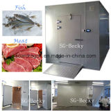 Замерзая холодная комната для мяса & рыб с хорошим конденсирующ блок