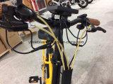 Bicicleta eléctrica del plegamiento campo a través gordo del neumático de 20 pulgadas con el sensor de la toca