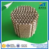 Placa de metal perforado de embalaje corrugado