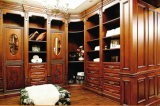 Wardrobe de pintura do quarto da madeira contínua (GSP9-004)