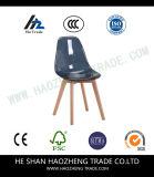 Hzpc130 Zwarte Plastic Stoel Vaste Voet - bevat het Kussen