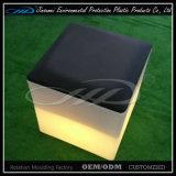 Sgabello chiaro del cubo di telecomando LED con il materiale del PE