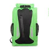 Zaino impermeabile esterno di vendita superiore del sacchetto asciutto del PVC di marchio su ordinazione