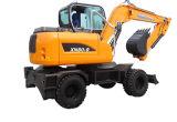 Xn80-9 las excavadoras de ruedas con gran fuerza impulsora
