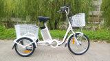 visualización de LED eléctrica del policía motorizado de Electiric tres del triciclo de la batería de litio del triciclo de 250W E