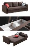 Drei Sitzgewebe-Sofa-Bett mit großem Strage/Fach