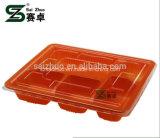 casella di pranzo a gettare di microonda dello scompartimento 1200ml 5