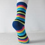Носки экипажа платья радуги цветастые оптовые изготовленный на заказ