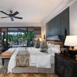 A mobília de madeira do quarto da cinza contínua ajustou-se para a mobília de cinco estrelas Tailândia do hotel