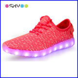 Moda LED parpadeante luz zapatos