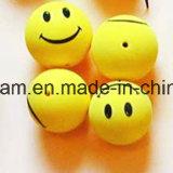 Bille jaune de mousse d'EVA de sourire