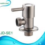 Válvula de ângulo dos bens do aço inoxidável 304 para o Faucet da torneira