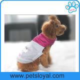 Ropa caliente del perro de la capa del perro de animal doméstico de la venta de la fábrica