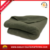 専門の総括的な洗濯機ポリエステル固体北極の羊毛毛布の厚い投球毛布