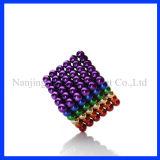 Esfera magnética colorida permanente do Neodymium