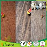 Plancher en plastique de planche de vinyle de PVC des graines de blocage en bois antibactérien de cliquetis