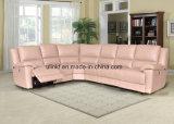茶表機能ソファー(UL-NS047)が付いているArmrestのリクライニングチェアのソファー